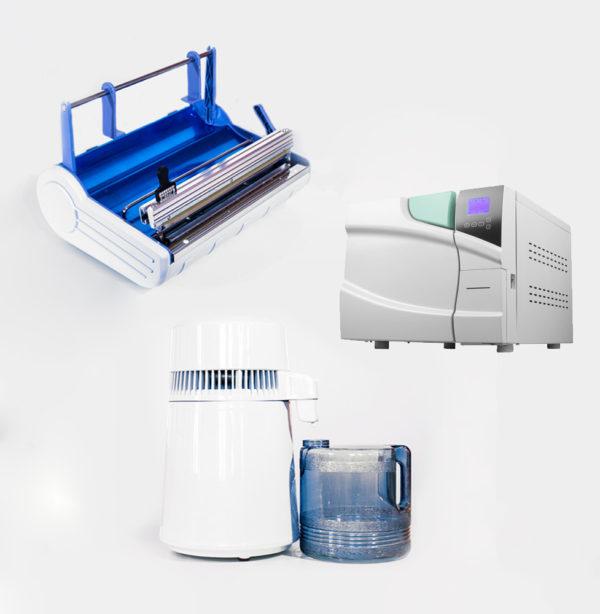 Pachet Autoclav + Sigilator + Distilator